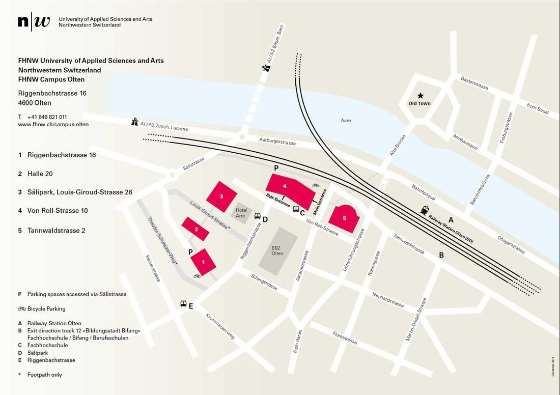 Campus Map Olten
