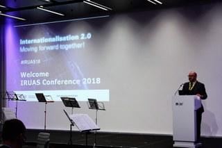 IRUAS18: Internationalisation 2.0