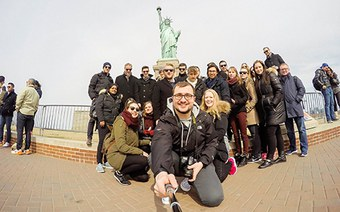 Exchange students FHNW in New York