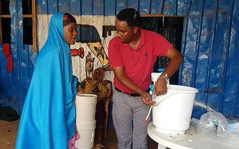 Evaluating household water filters in emergencies