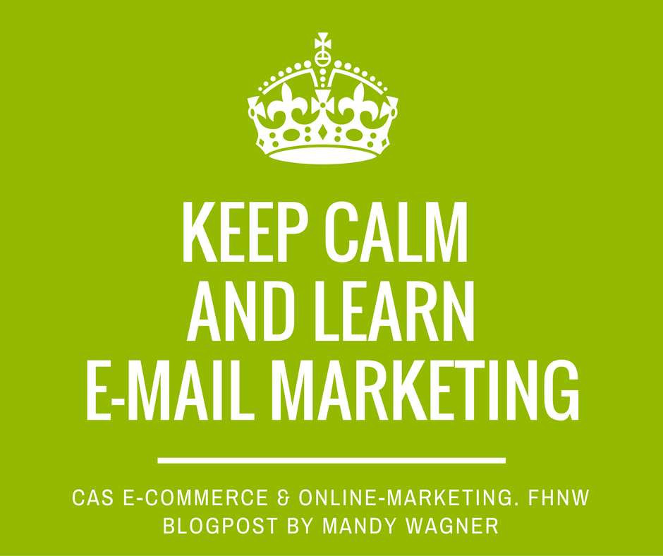 eMail Marketing by Mandy Wagner. FHNW. Prof. Dalla Vecchia