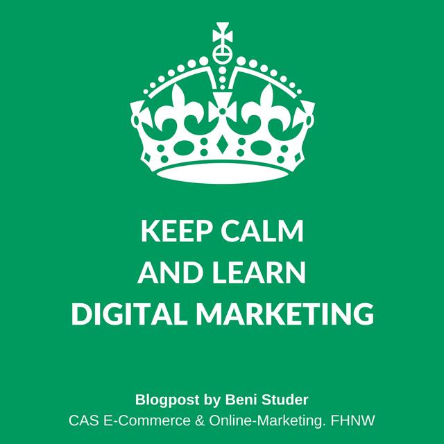 Digital Marketing by Beni Studer. CAS E-Commerce & Online-Marketing. FHNW