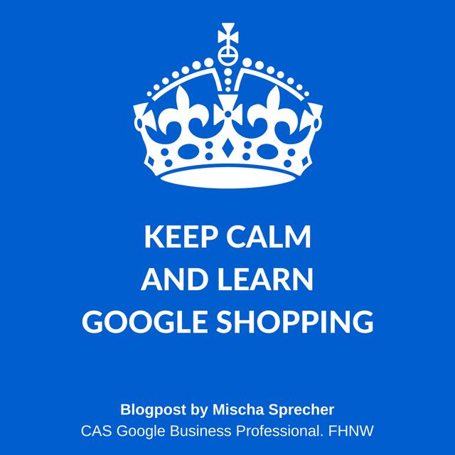 Google Shopping von Mischa Sprecher, CAS Google Business Professional FHNW, Prof, Dalla Vecchia